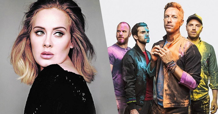 Adele, Coldplay, The 1975 คว้ารางวัล BBC Music Awards 2016