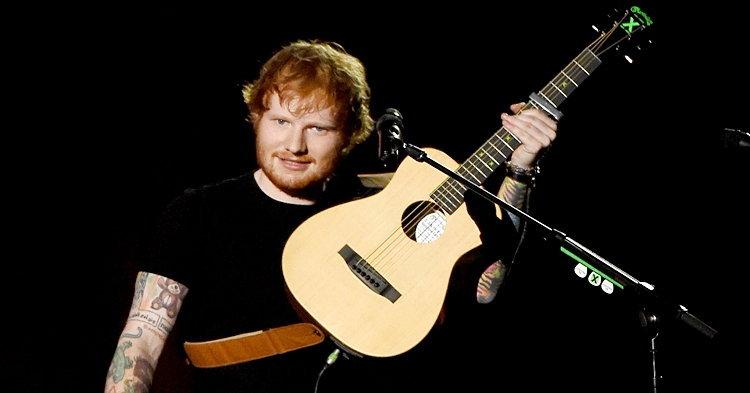 Ed Sheeran โดนดาบสะกิดหน้า เพราะอุบัติเหตุในงานปาร์ตี้