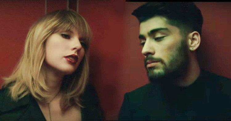 "Taylor Swift, ZAYN เซ็กซี่เย้ายวนสุดๆ ในเอ็มวี ""I Don't Wanna Live Forever"""