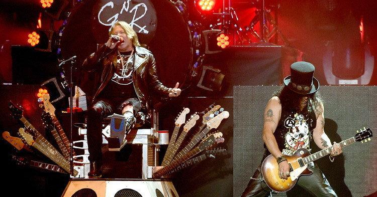 Guns N' Roses ตำนานวงร็อคระดับโลก พร้อมระเบิดความมันส์!!