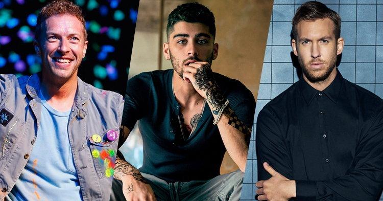 Coldplay, ZAYN, Calvin Harris นำชิงรางวัล Brit Awards 2017
