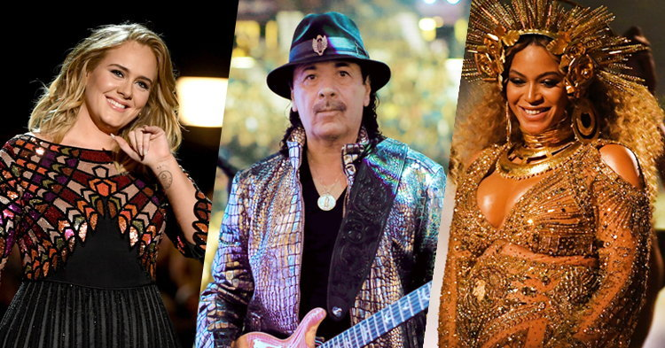 Santana ลั่น! อยากร่วมงานกับ Adele, Beyonce