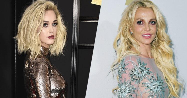 แฟน Britney ฉุน! Katy Perry แอบแขวะกลางงาน Grammys 2017