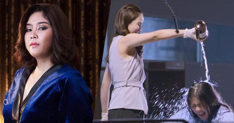 """แซ่บสนั่นโซเชี่ยล! """"จั๊กจั่น"""" ราดน้ำกรดมารหัวใจใน MV เพลง """"เสื่อม"""""""