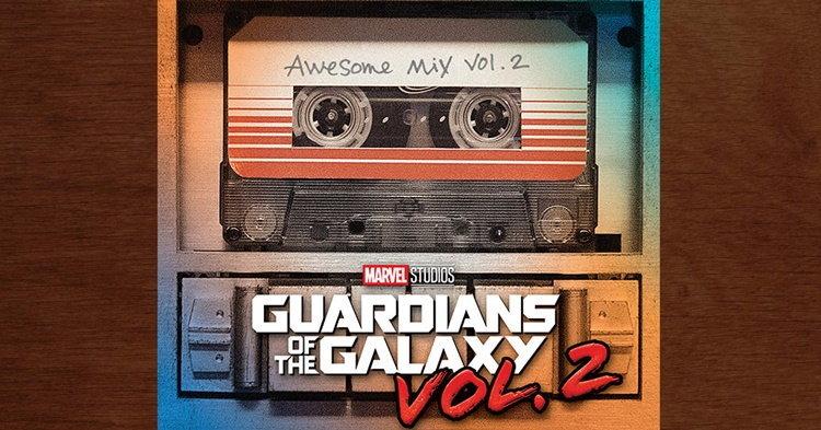 Guardians of the Galaxy Vol.2 เตรียมขึ้นแท่นเพลงประกอบหนังยอดเยี่ยมแห่งปี!