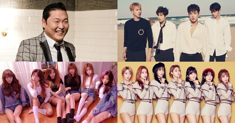 PSY, CNBLUE, APINK, AOA บิดลัดฟ้าร่วมงาน SHOW DC GRAND OPENING WEEK
