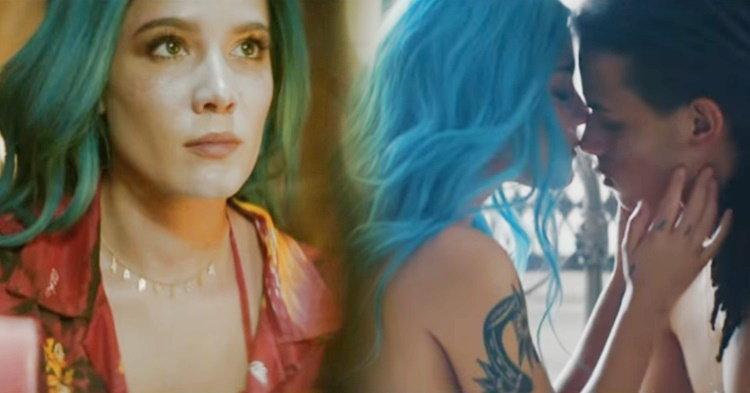 """Halsey โชว์ความแซ่บสุดจิ๊ดในเอ็มวีล่าสุด """"Now or Never"""""""