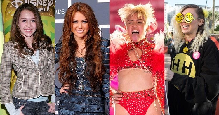 Miley Cyrus กับพัฒนาการแฟชั่น 10 ปี จากเด็กใสๆ สู่สาวสวยแซ่บ