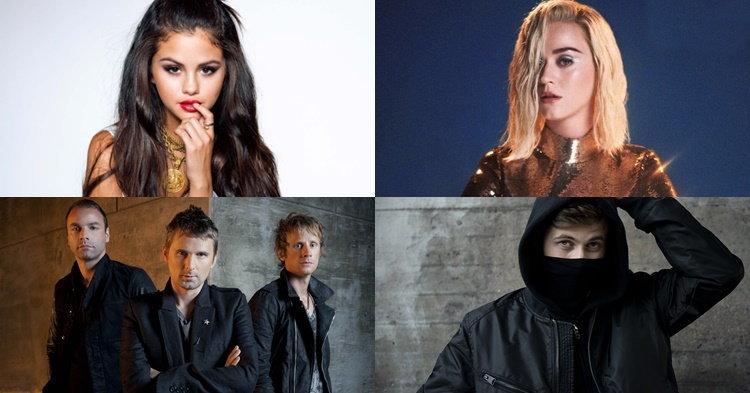 Selena Gomez, Katy Perry, Muse, Alan Walker กับเพลงใหม่ประจำสัปดาห์