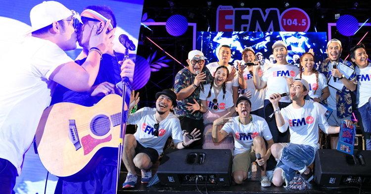 ดีเจซุปตาร์นำทัพ 6 ศิลปิน เปิดฉากความมันส์ ใน EFM Six Pack on The Beat #4