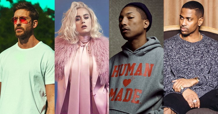 "Calvin Harris ชวน Katy Perry, Pharrell Williams, Big Sean ปล่อยเพลงใหม่ ""Feels"""