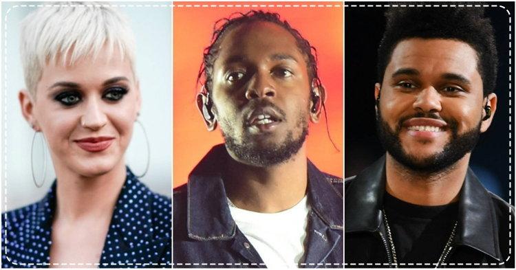 Katy Perry, The Weeknd, Kendrick Lamar นำทีมเข้าชิง MTV VMA 2017