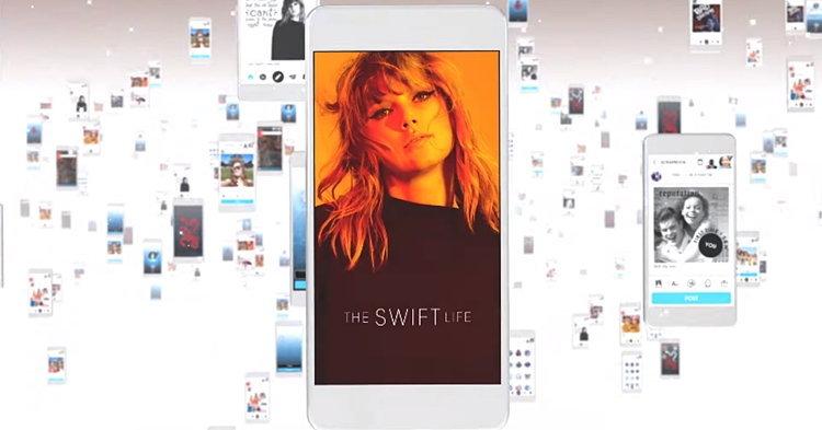 Taylor Swift เตรียมปล่อย The Swift Life แอพ social network ของตัวเอง