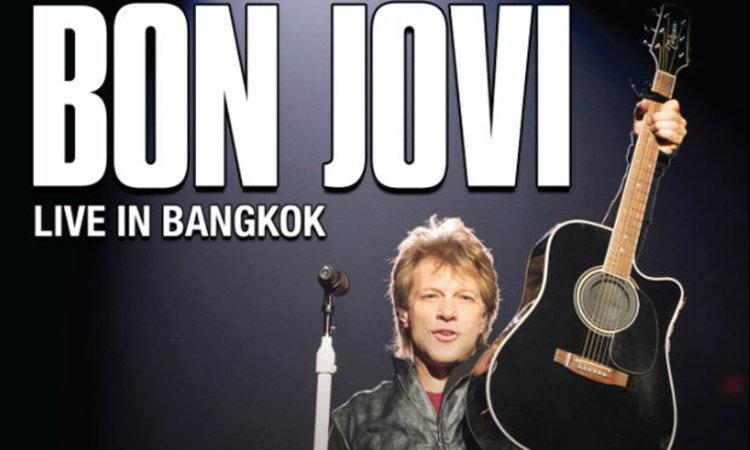 """กรี๊ดรัวๆ สุดยอดวงร็อคระดับโลก """"บอง โจวี่"""" พร้อมเปิดคอนเสิร์ตใหญ่ในไทยอีกครั้ง!!"""
