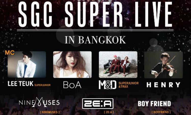 """ปรากฏการณ์แรกในไทย!! รวบรวม""""K-POP"""" เกาหลีเดินแฟชั่นโชว์ก่อนขึ้นคอนเสิร์ต"""