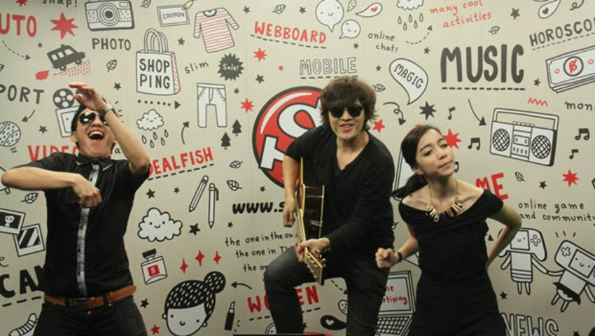 แหนม รณเดช ชวนพิธีกร Sanook! Live Chat เต้น ขอใจเธอแลกเบอร์โทร