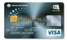 บัตรเครดิตเคทีซี Senior Visa Platinum