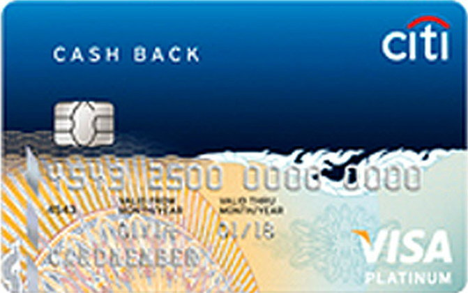 บัตรเครดิต ซิตี้แบงก์ แคชแบ็ก แพลตตินั่ม