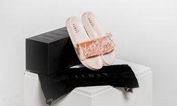 รองเท้าแตะออกแบบโดย Rihanna  ขายหมดใน 30 นาที