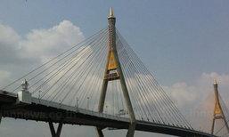ทางหลวงชนบทแจงห้ามจยย.ขึ้นสะพานภูมิพล