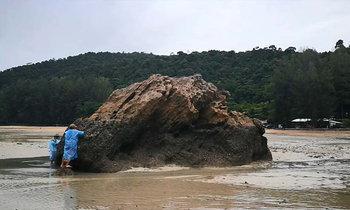 ชาวบ้านหนองทะเลหา 'หอยติบ' ปรุงเมนูเด็ด ขายสร้างรายได้เสริม ช่วงมรสุม