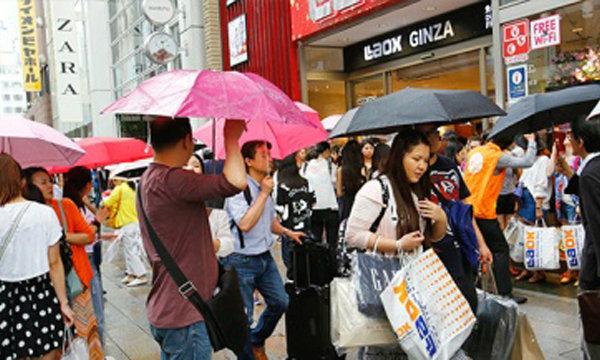 ญี่ปุ่นปรับเกณฑ์คืนภาษีนักท่องเที่ยวมากขึ้น