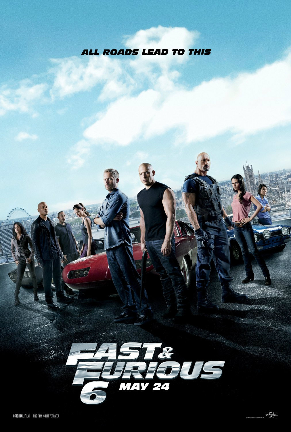 หนัง Fast and Furious 6