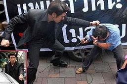 คลิปเมธี ต่อย อดิศราช ตั้ง2ข้อหา ดาราเสื้อแดง เมธี บู๊นอกจอ รัวหมัดใส่เจ้าหนี้เพื่อไทย