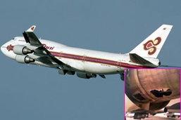 แฉ!บินไทยเครื่องไหม้หวิดร่วง