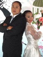 น้องอร สู้โว้ย! วิวาห์หวาน แฟนหนุ่มนักยกน้ำหนัก