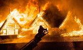 ไฟไหม้โรงแรมหรู 5 ดาวกลางเมืองย่างกุ้ง วอดวายทั้งพื้นที่