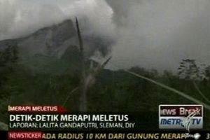 ภูเขาไฟระเบิดในอินโดนีเซีย ตาย 15