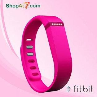 สายรัดข้อมือเพื่อสุขภาพ Fitbit Flex Wireless Activity & Sleep Wristband Pink