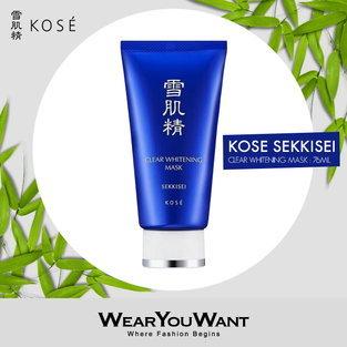 KOSE Sekkisei Clear Whitening Mask 76ml