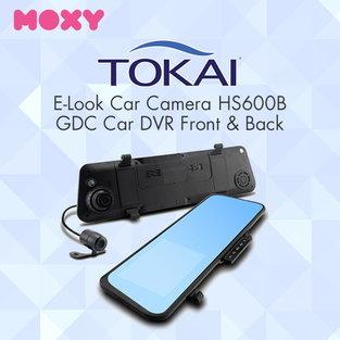 กล้องติดรถยนต์ TOKAI รุ่น HS600B GDC Car DVR - สีดำ