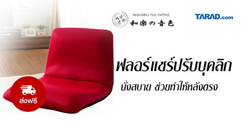 Waraku Chair นั่งสบายช่วยปรับบุคลิกของคุณ รุ่น A455