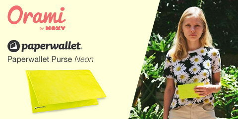 Paperwallet Purse - Neon