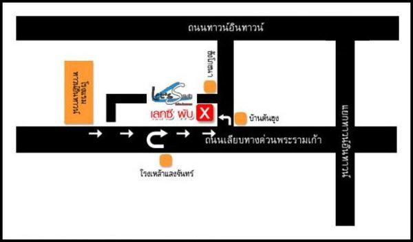 แผนที่ Let's Sea pub & restaurant