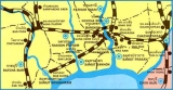 แผนที่ เส้นทางรถไฟ