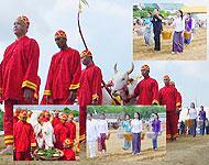 งานพระราชพิธีพืชมงคลจรดพระนังคัลแรกนาขวัญ ปี 2551