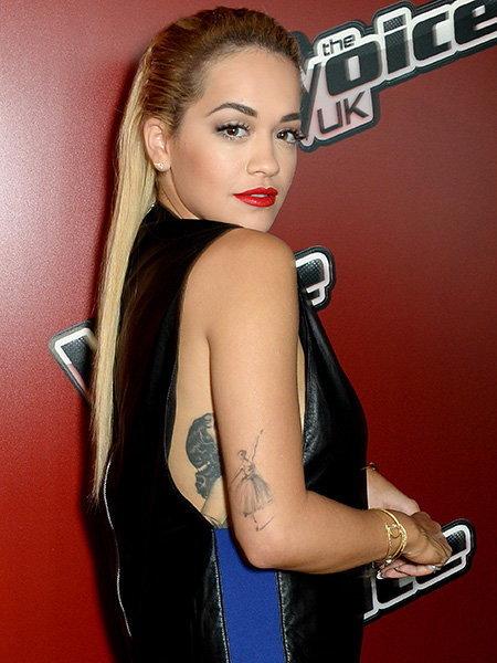 Rita Ora ศิลปินสาวชาวบริติช