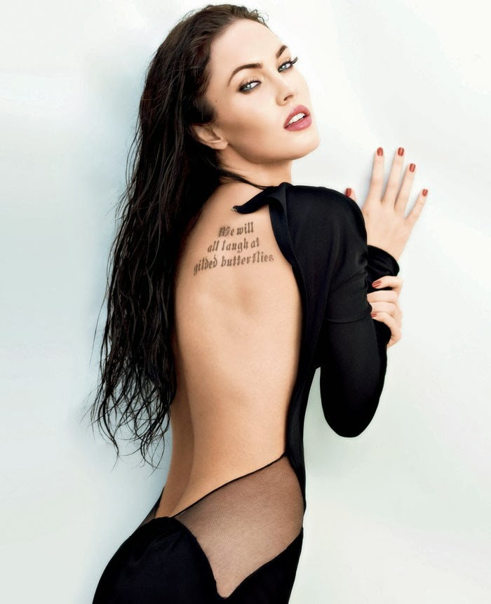 Megan Fox นักแสดงและนางแบบสาวชาวอเมริกัน