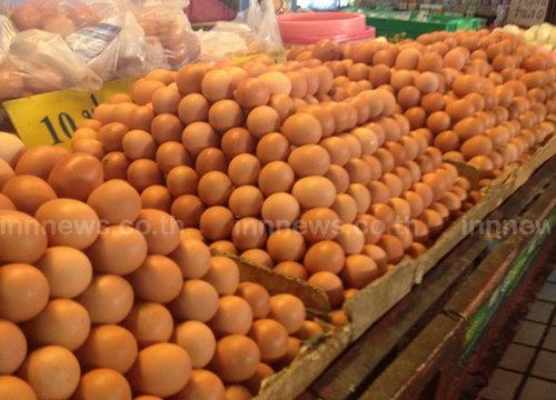 พาณิชย์เผยวันนี้ไข่ไก่ราคาลงฟองละ10สต.