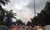 ฝนถล่มกรุงน้ำขังรถติดหลายจุด ผบ.ตร.สั่งดูแลจราจร