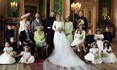 สำนักพระราชวังฯ เปิดเผยภาพถ่ายเป็นทางการ วันพิธีเสกสมรสเจ้าชายแฮร์รี่