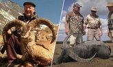 """โลกประณาม! องค์กรสนับสนุนมอบโล่ """"สุดยอดนักล่าสัตว์ป่า"""" 19 ปี ฆ่า 500 ตัว"""