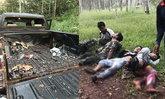 ชุดเฝ้าระวังจุดระเบิดปิงปองไล่ช้าง พลาดชนวนหลุดบึ้มใส่ เจ็บหนัก 4 คน