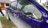 รักจบ คนไม่จบ! สาวผวา อดีตแฟนหนุ่มตามมายิงบ้าน-รถ จนพรุน 2 วันติด