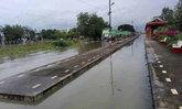น้ำท่วมเพชรบุรีกระทบ การรถไฟประกาศงดเดินรถสายใต้