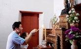 หนุ่ม กรรชัย พา มายู ฝากตัวเป็นลูกพระสังฆราชองค์ที่ 12 ตามคำทักของผู้ใหญ่